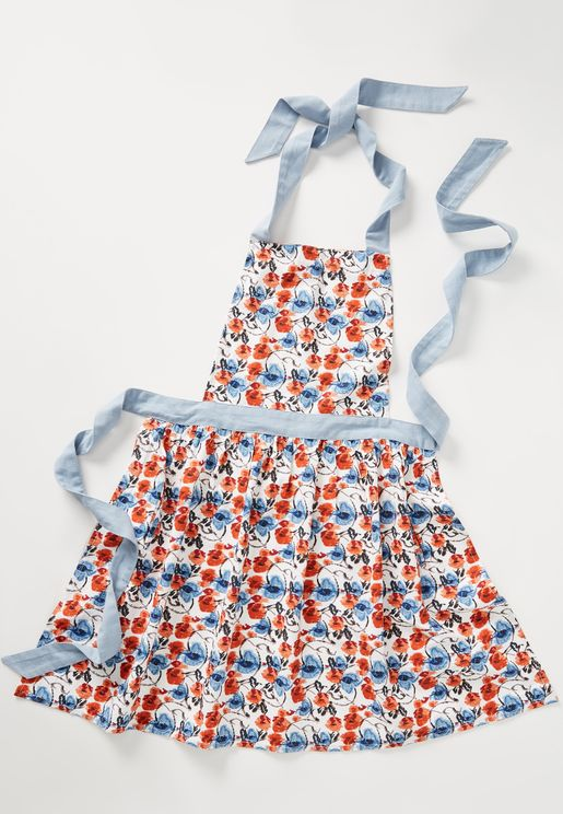 Floral Daily Bake Apron