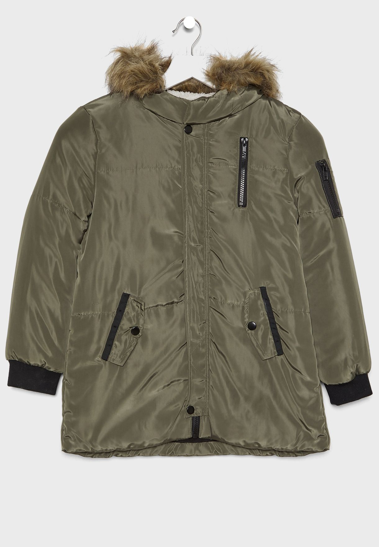 Teen Parka Jacket