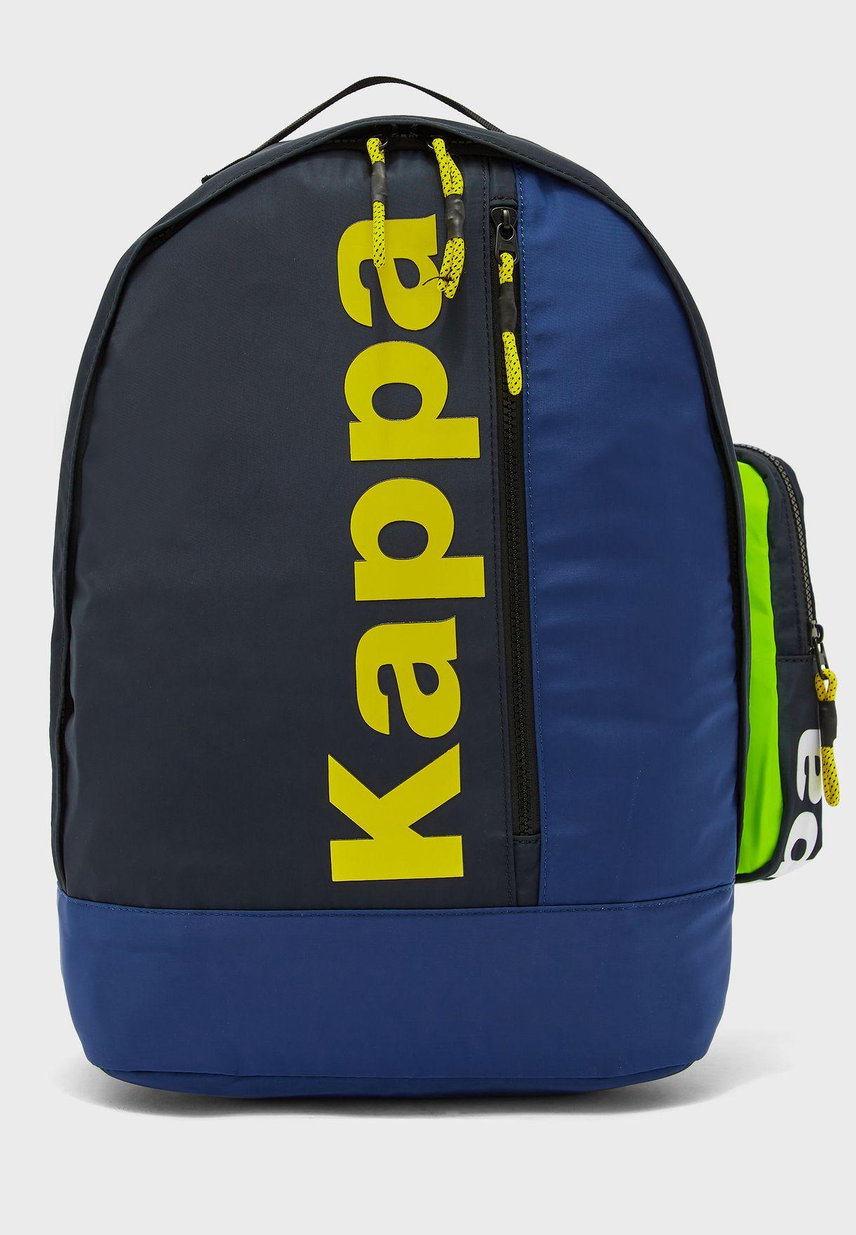 Logo Colour Block Backpack