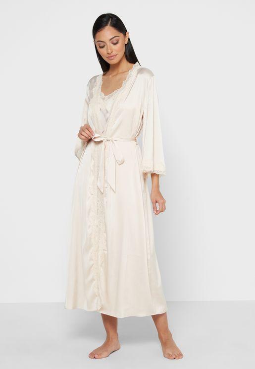2 in 1 Robe Nightdress Set