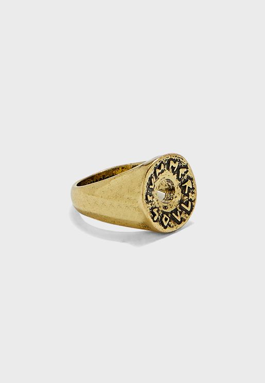 Round Front Signet Ring
