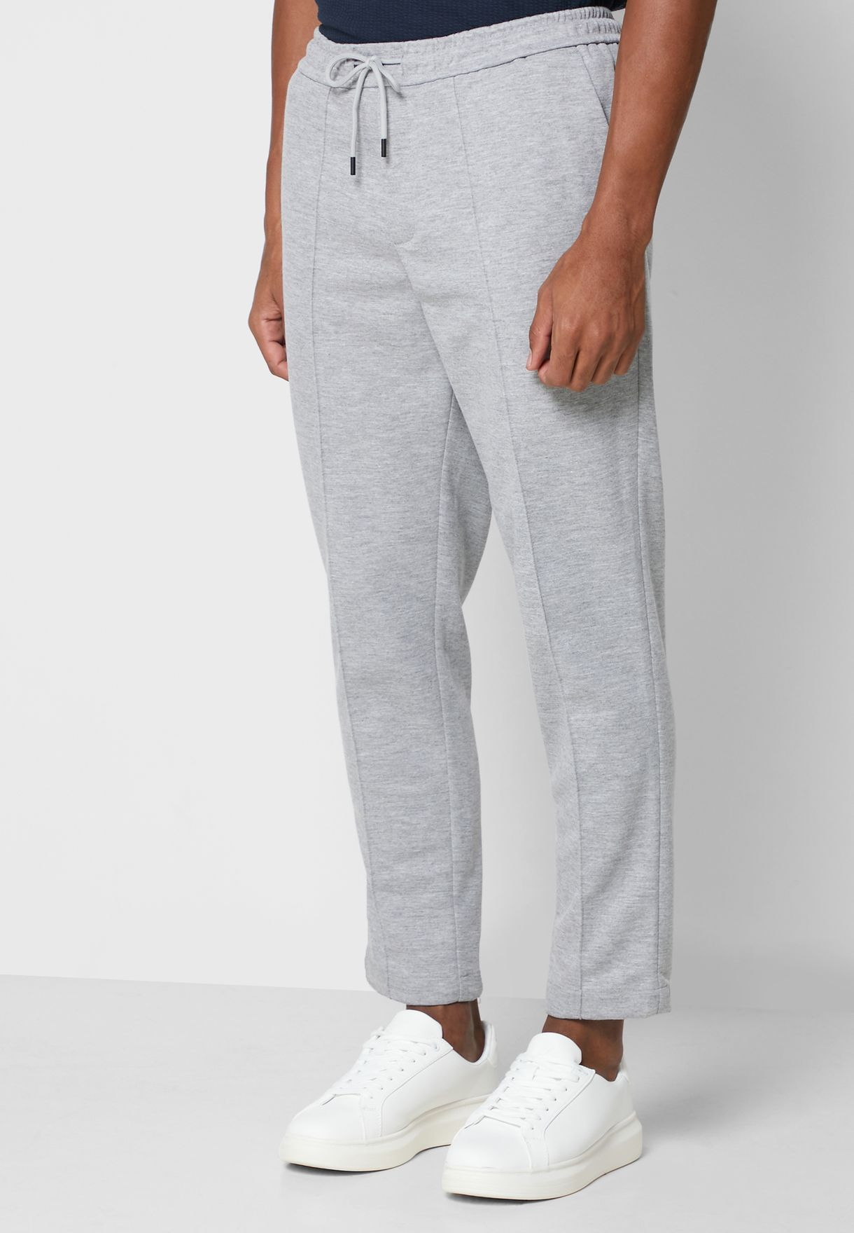 Jogger Fit Cropped Trouser