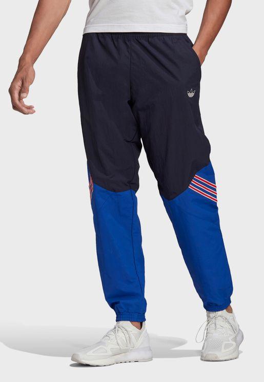 Trefoil Woven Track Pants