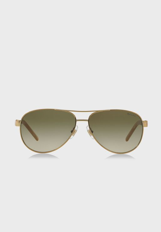 0RA4004 Aviator Sunglasses