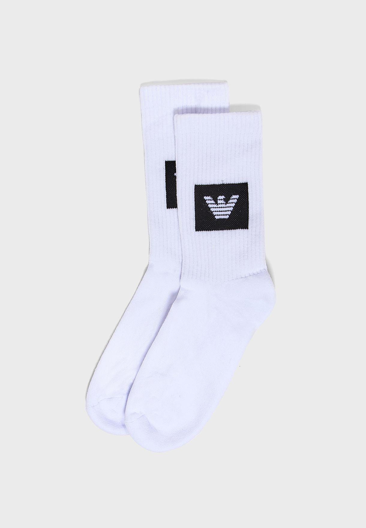 2 Pack Crew Socks