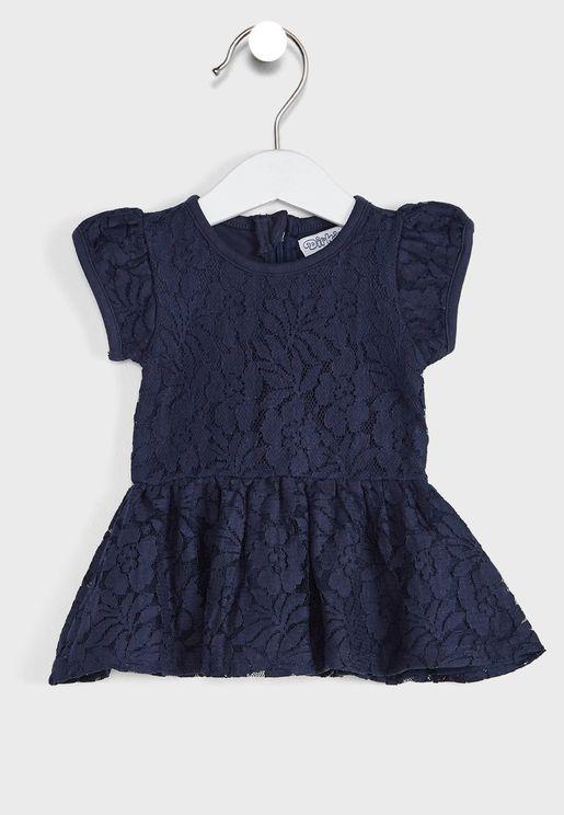 فستان كسرات للاطفال