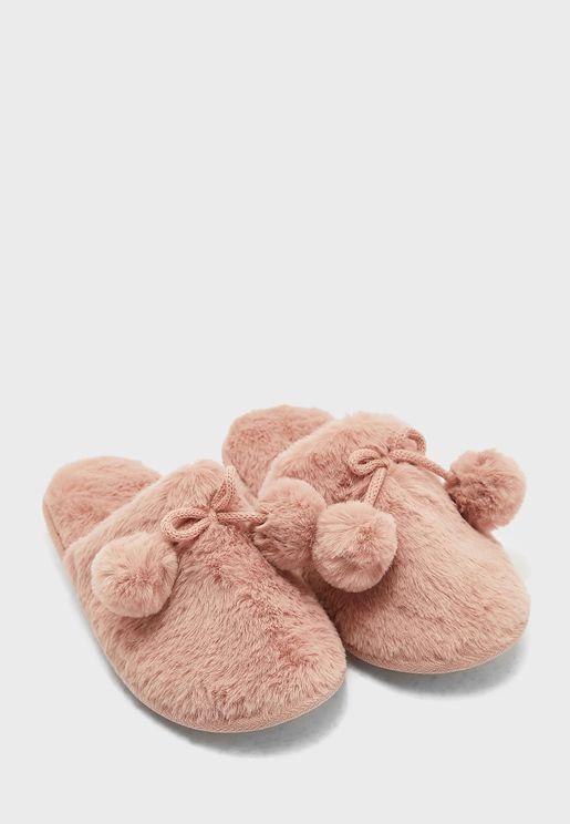 Casual Slip On Bedroom Slippers