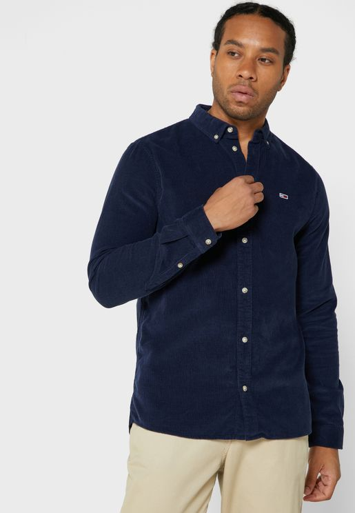 Corduroy Regular Fit  Shirt