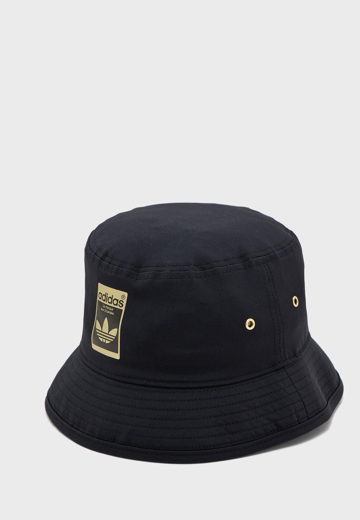 Buy Adidas Originals Black Logo Bucket Hat For Women In Muscat Other Cities Gf3198