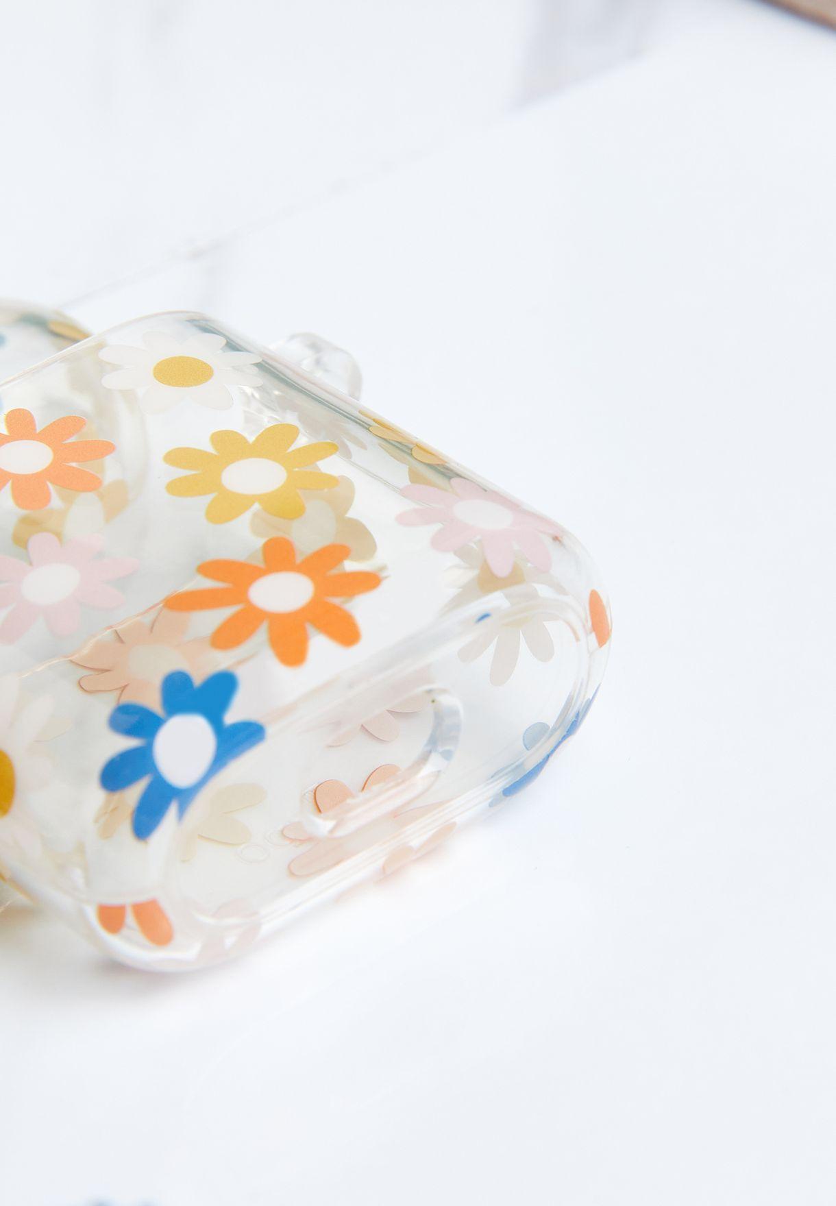Floral Premium Ear Bud Sleeve