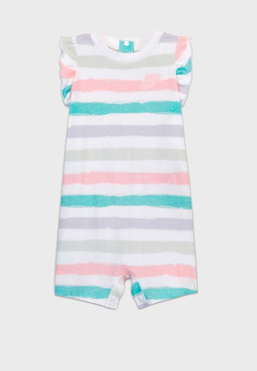 Infant Stripe Romper