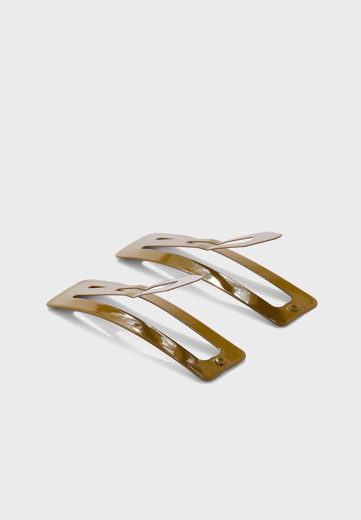 2 Pack Patent Hair Clips