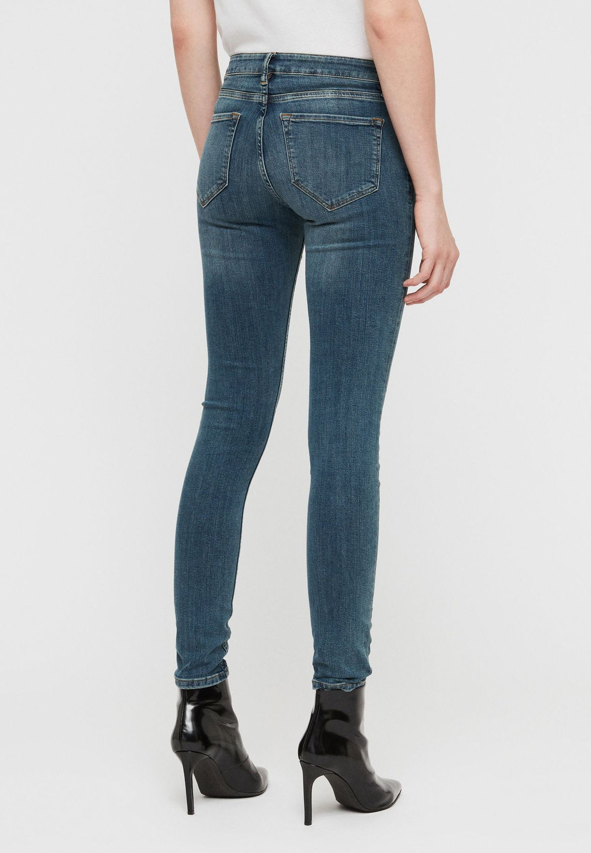 Mast Mid Rise Skinny Jeans