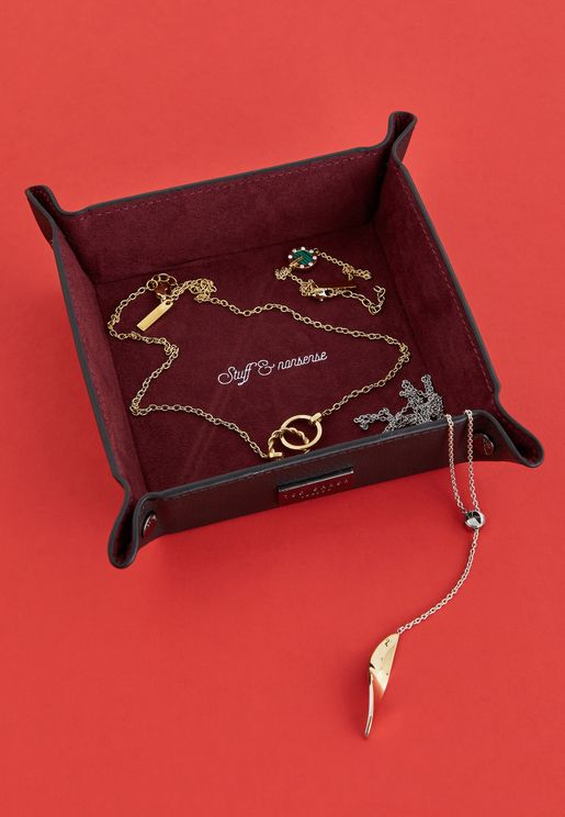 صينية صغيرة للمجوهرات