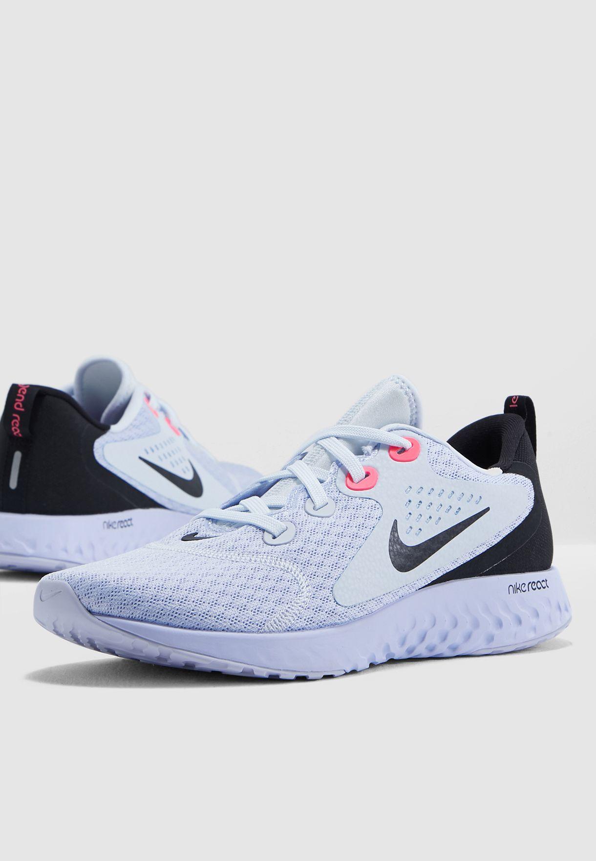 info for 61bb8 5df5b Shop Nike blue Legend React AA1626-008 for Women in UAE - 72704SH29IDP