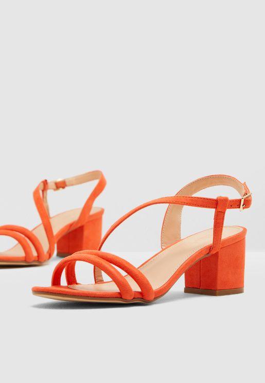 Hallie Block Heel Sandal