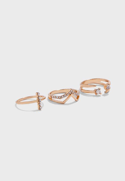 Multipack Cymri Rings