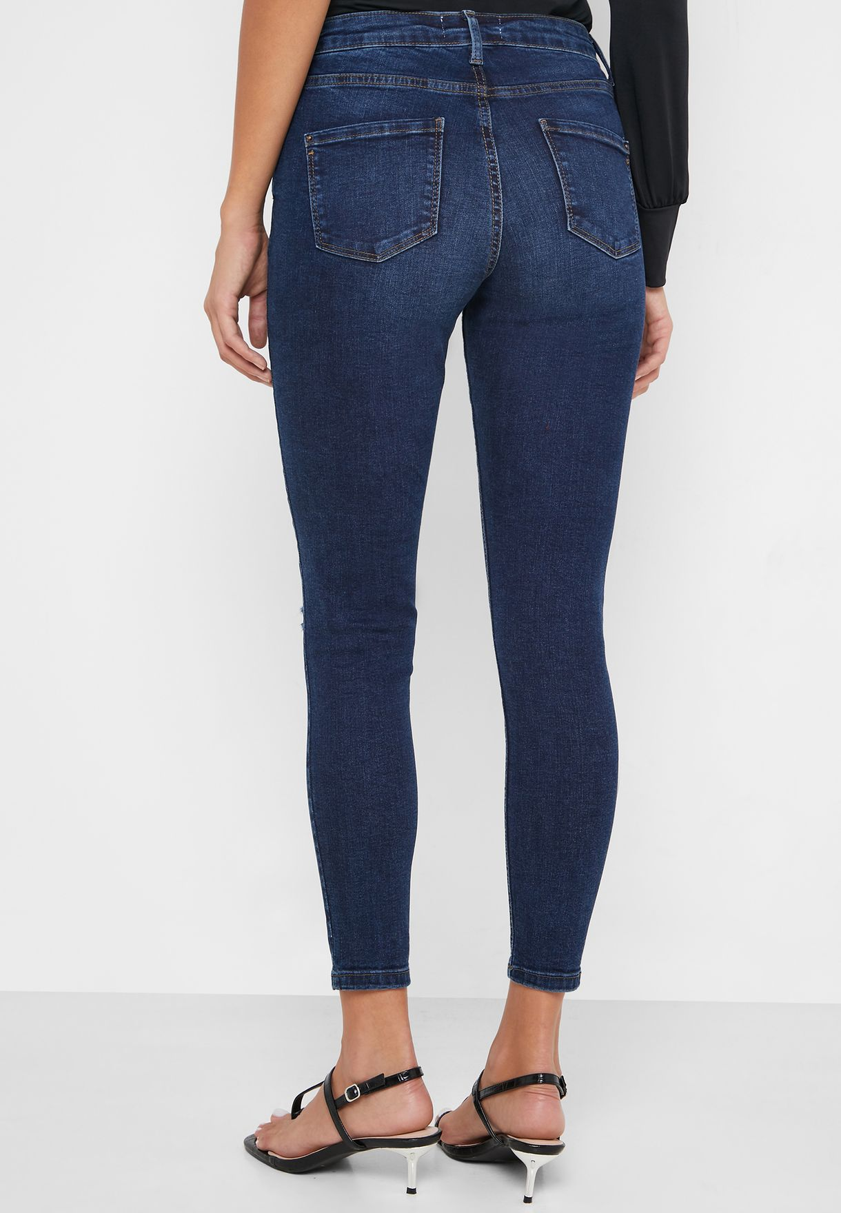Darcy Ripped Regular Length Jeans