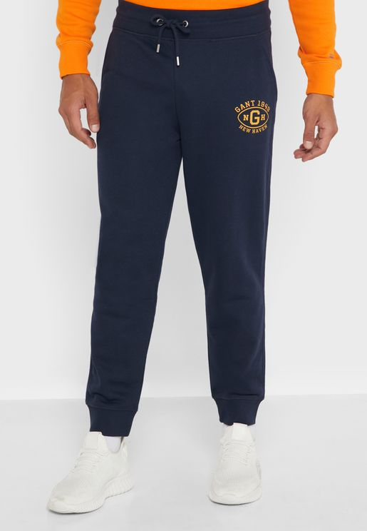 Graphic Cuffed Sweatpants