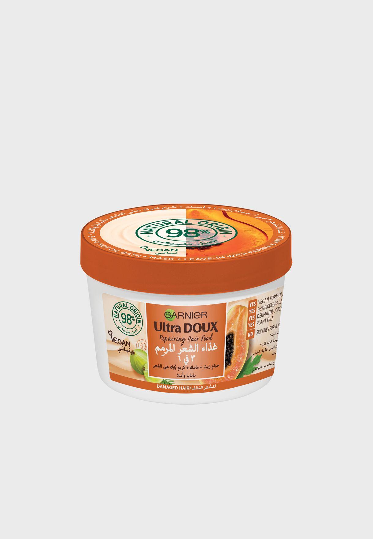 Ultra Doux Repairing Papaya 3-In-1 For Damaged Hair
