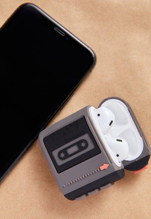 Cassette Novelty Ear Bud Sleeve