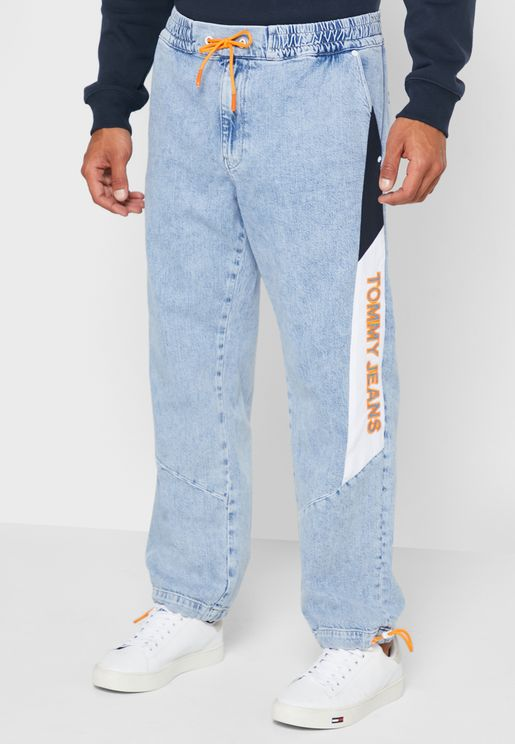Elasticated Relaxed Jeans