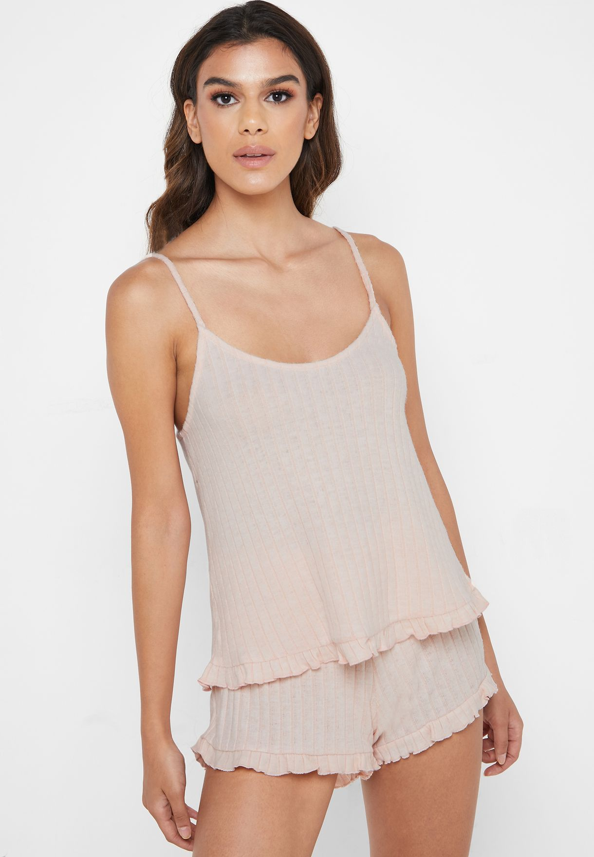 Ribbed Cami Top