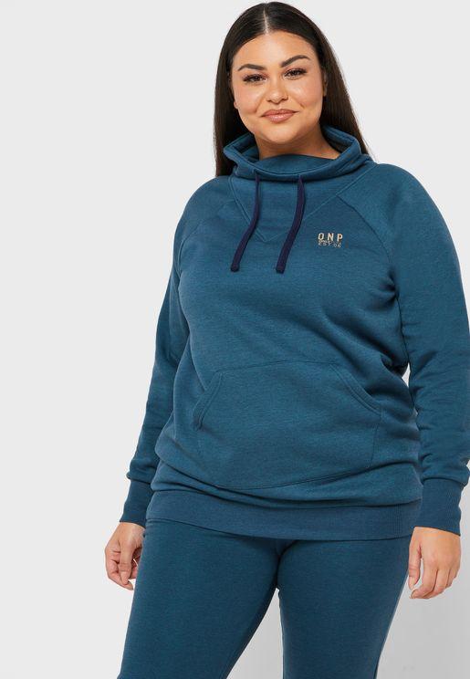 Nahla Brushed High Neck Sweatshirt