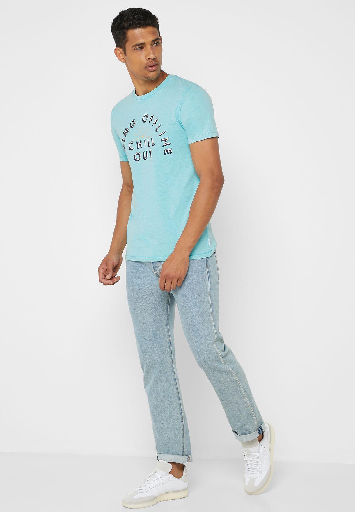 Essential Summer Crew  Neck T-Shirt