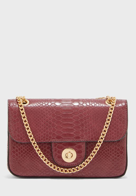Caprice Snake Chain Crossbody