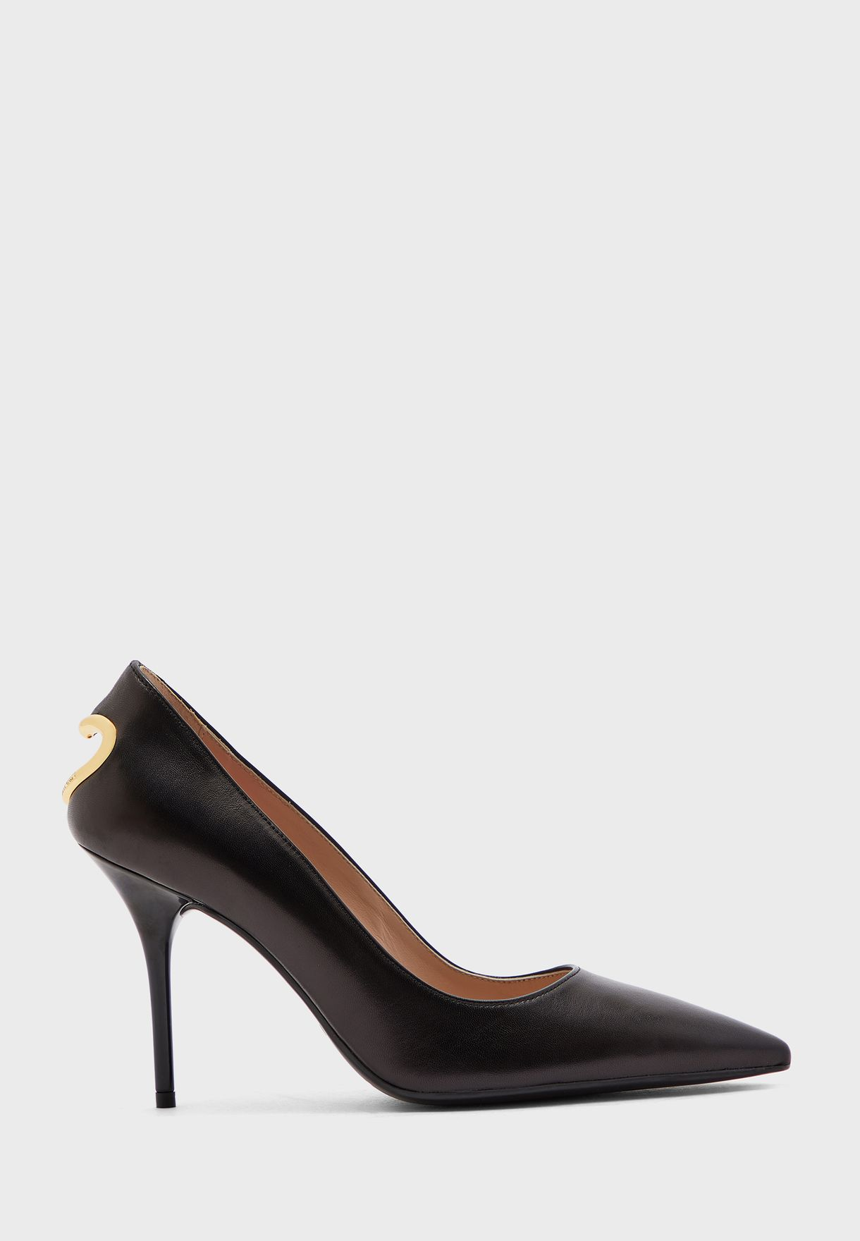 Pointed Toe Pump - Nero