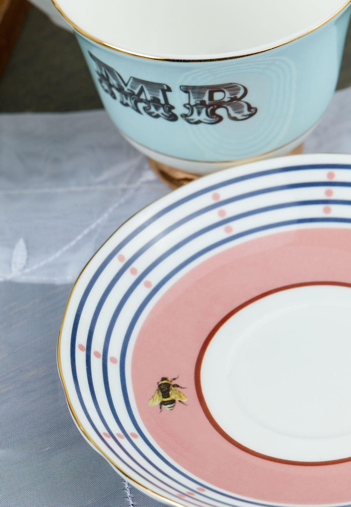 Teacup & Saucer Mr