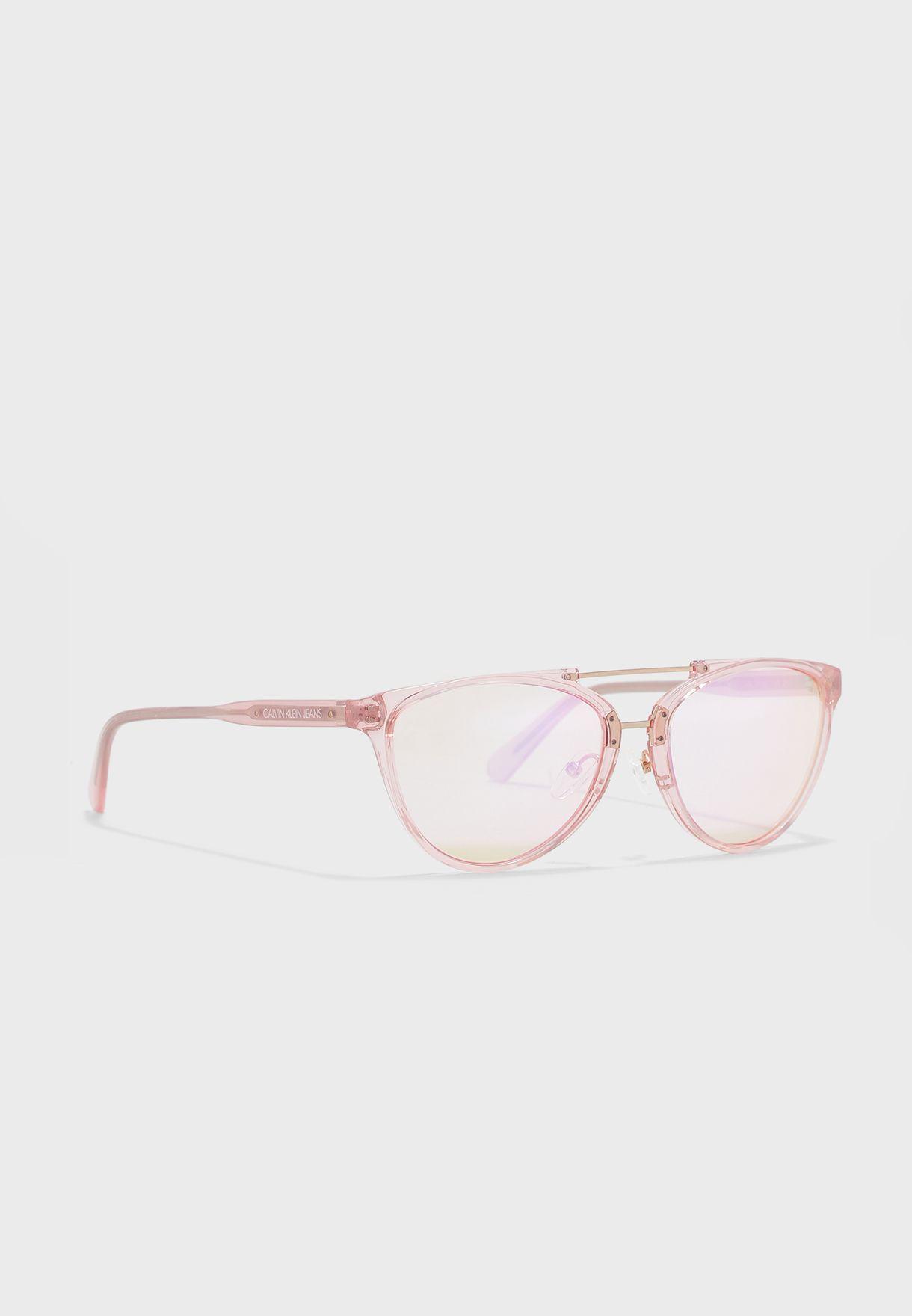 CKJ19518S Cat Eye Sunglasses