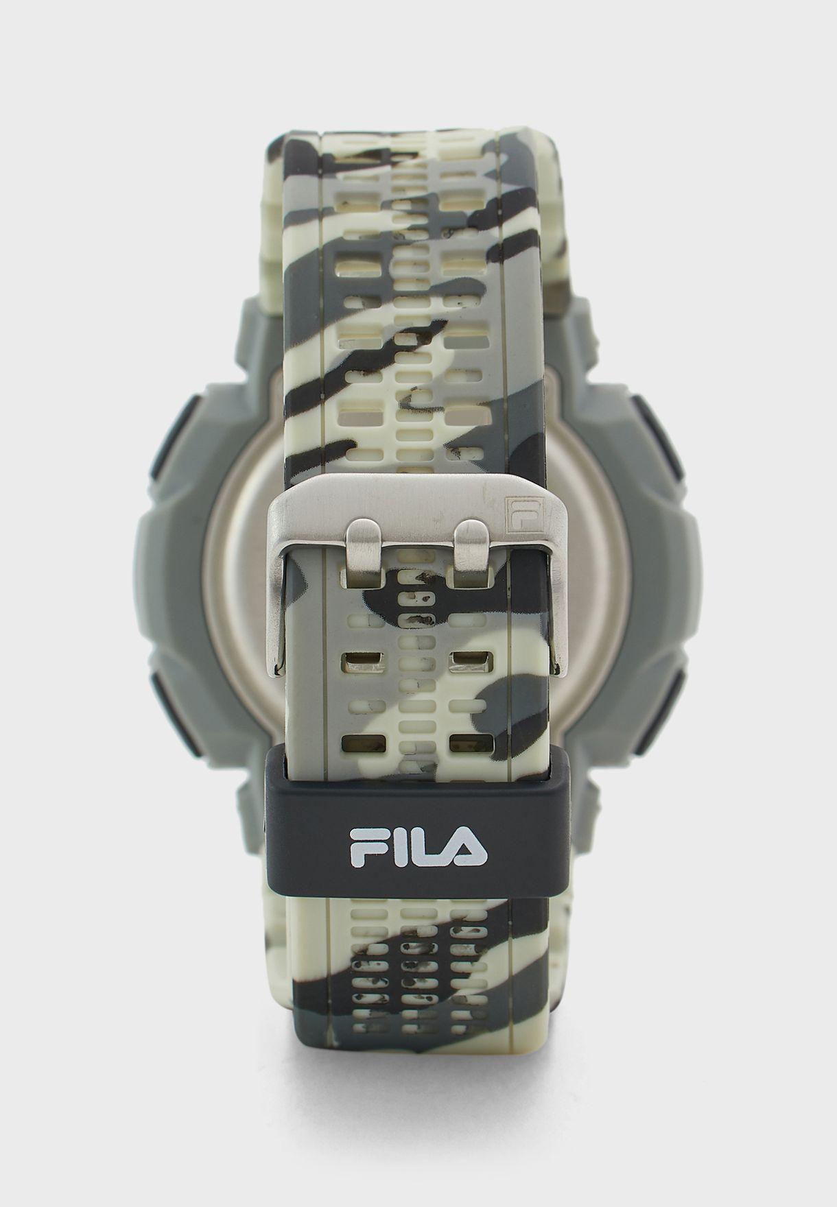Digital Camo Watch