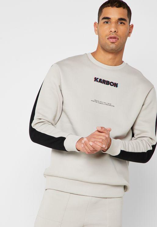 Variks Drop Shoulder Sweatshirt