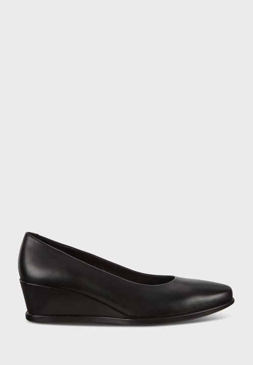 حذاء ويدج بكعب عالي