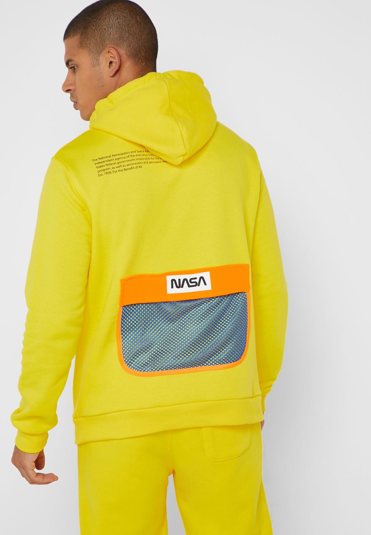 7a2cf6f76403 NASA Graphic Drawstring Hoodie. NASA Logo Graphic Shirt. Shop Forever 21  silver NASA Graphic Reflective Hoodie 324291 for Men ...