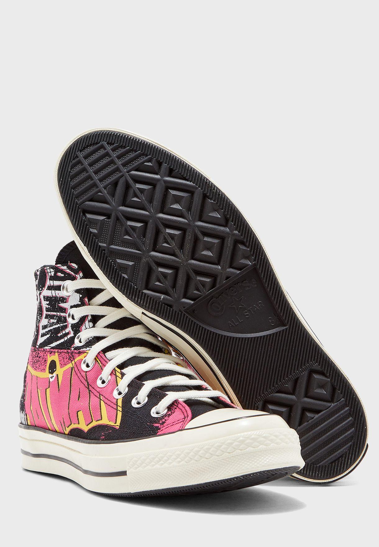حذاء من مجموعة باتمان
