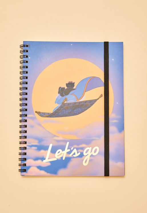 Aladdin Spinout A5 Notebook