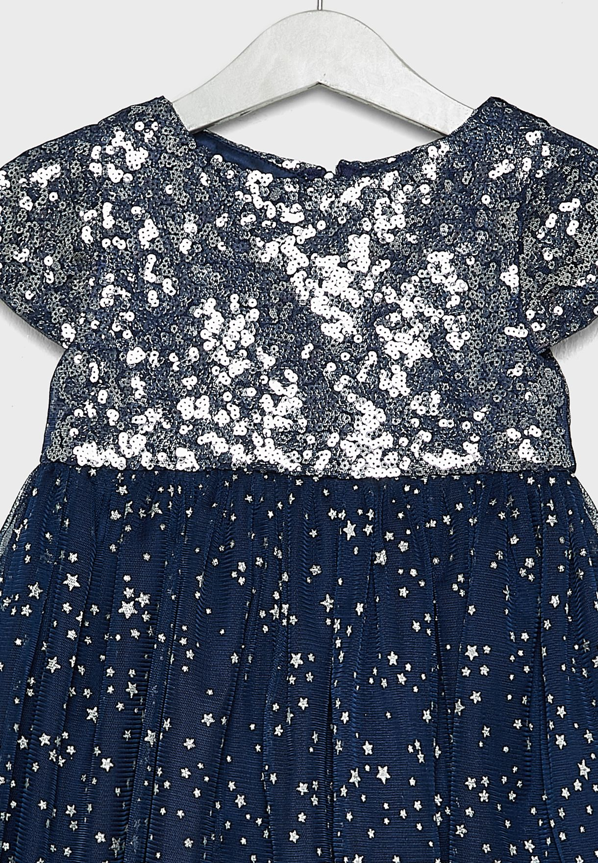 Kids Sequin Star Dress