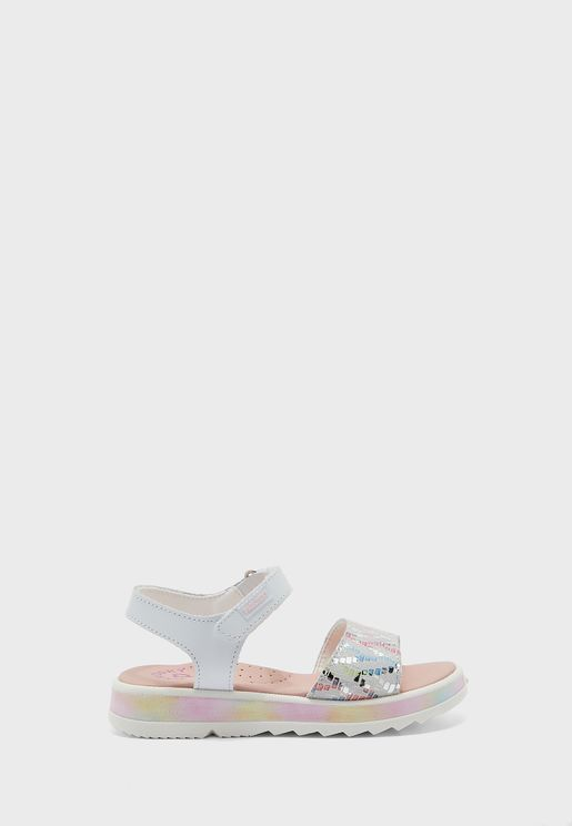 Kids Wide Strap Sandal