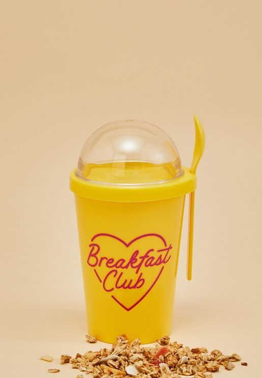 Breakfast Club Travel Yogurt Cup