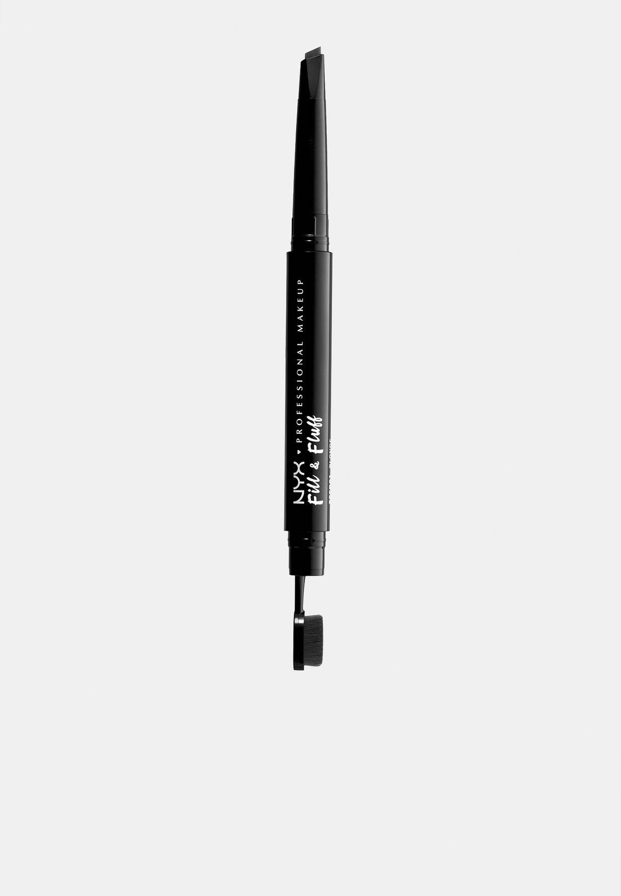 Fill & Fluff Eyebrow Pomade Pencil-Black