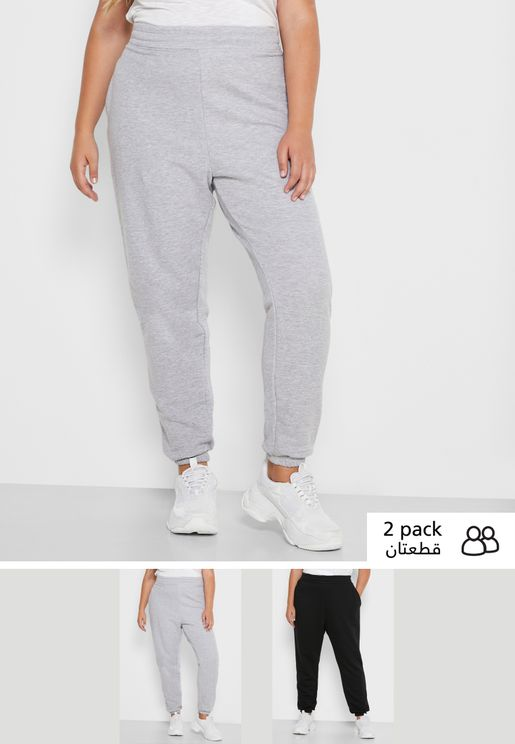 2 Pack Basic Joggers