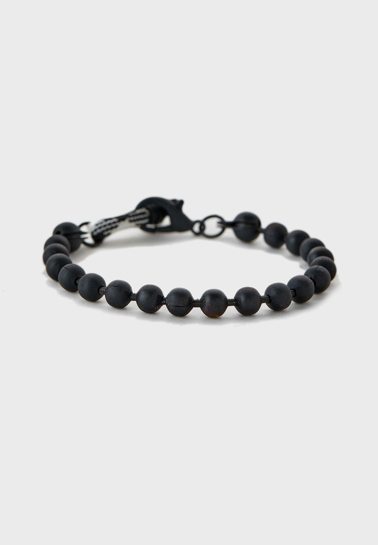 Ball Chain Cord Loop Bracelet