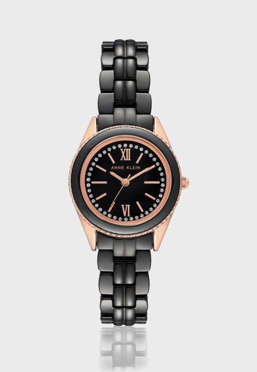 AK3410BKRG Analog Watch
