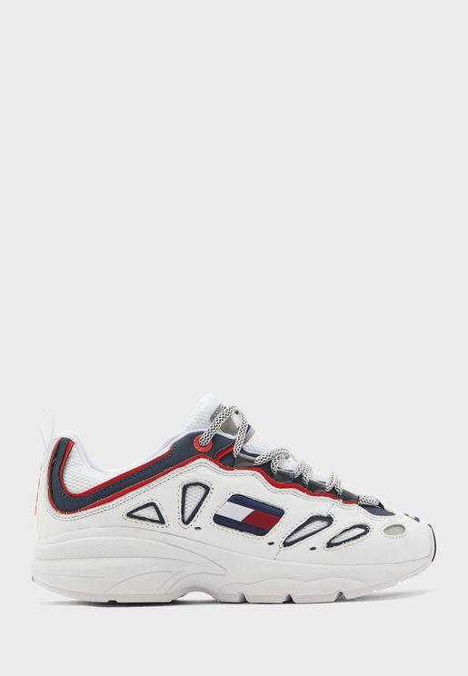 Heritage Retro Low-Top Sneaker