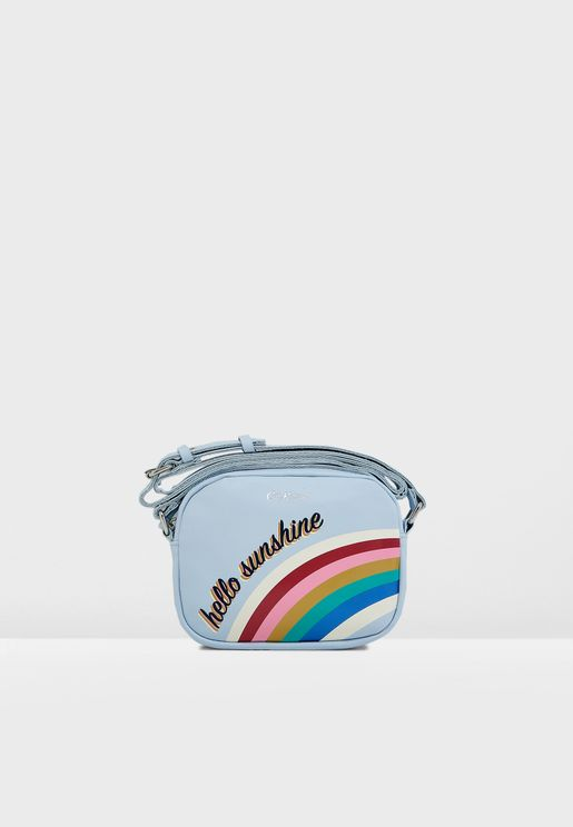 Kids Rainbow Crossbody