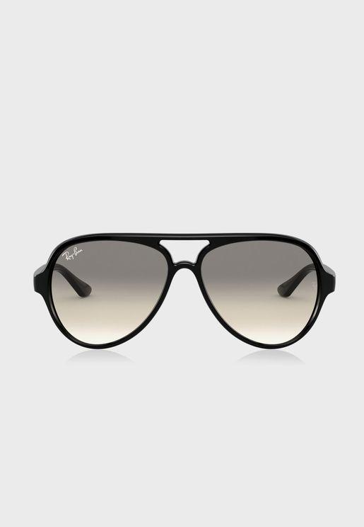 0Rb4125 Oversized Sunglasses
