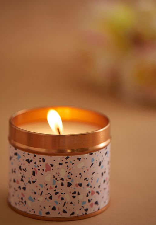 Lavender & Chamomile Scented Candle
